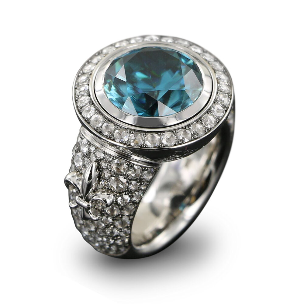 Meister 1881 Collection Ring mit Lilie