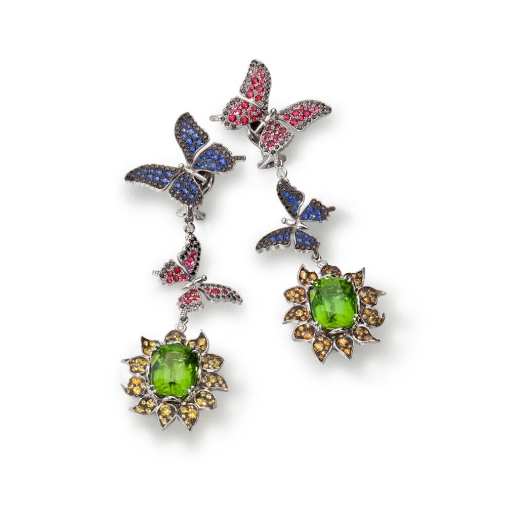 Meister 1881 Collection_Ohrhängerclips Schmetterlinge