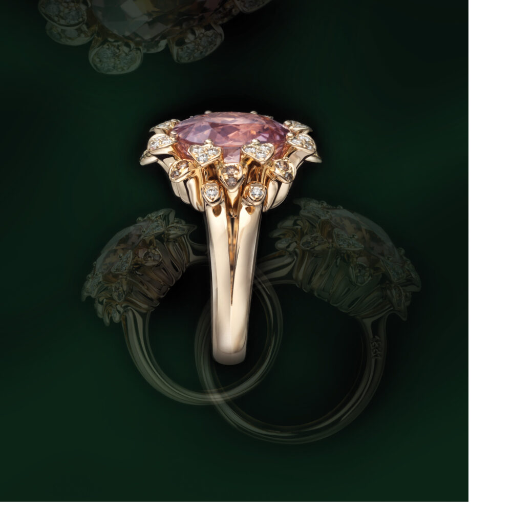 Meister 1881 Collection Ring «Blumenkranz»