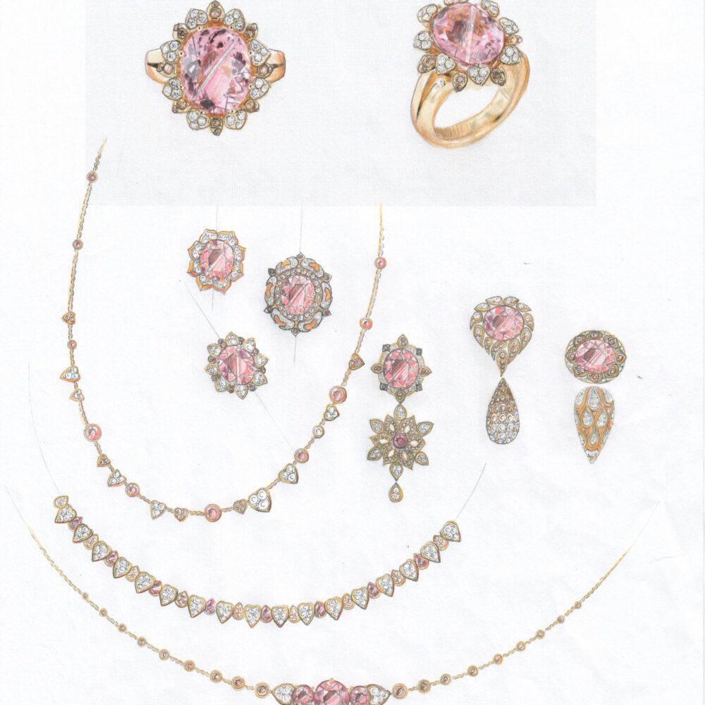 Meister 1881 Collection Ring «Blumenkranz»