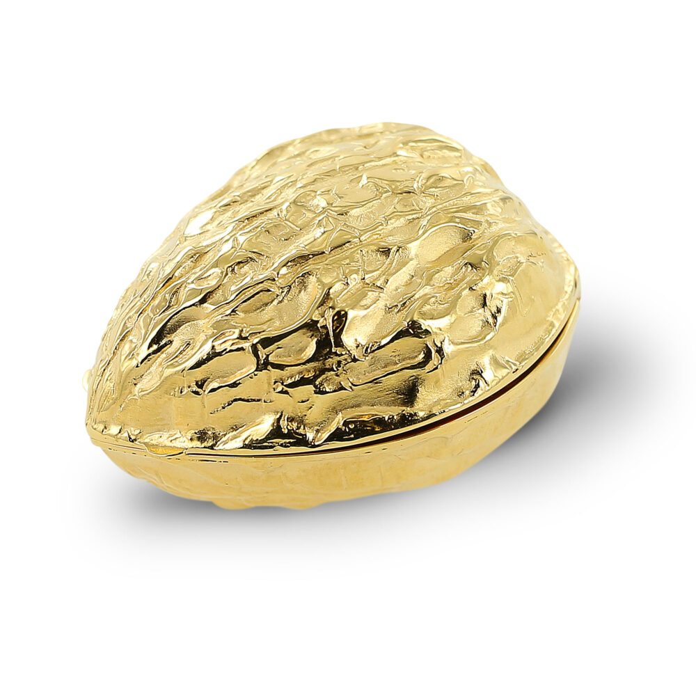 Meister 1881 Collection Pillendose vergoldet