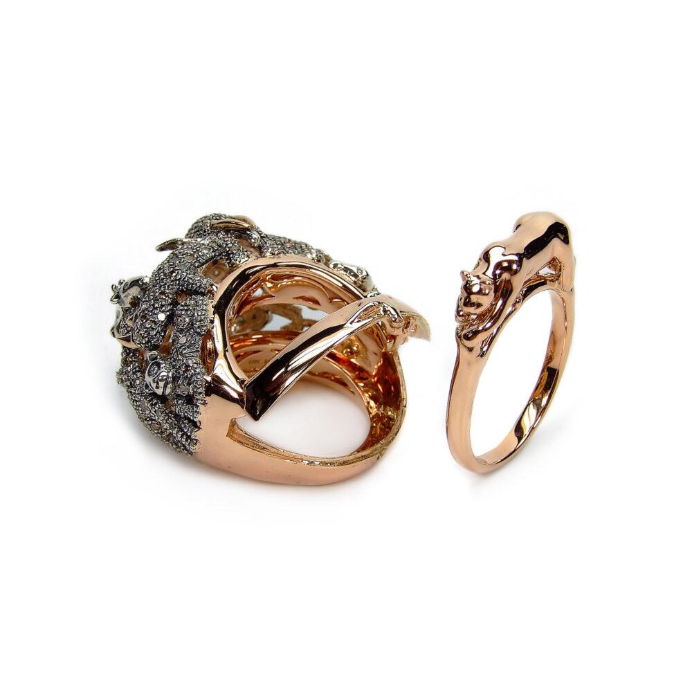 Bibi van der Velden Ring Animal