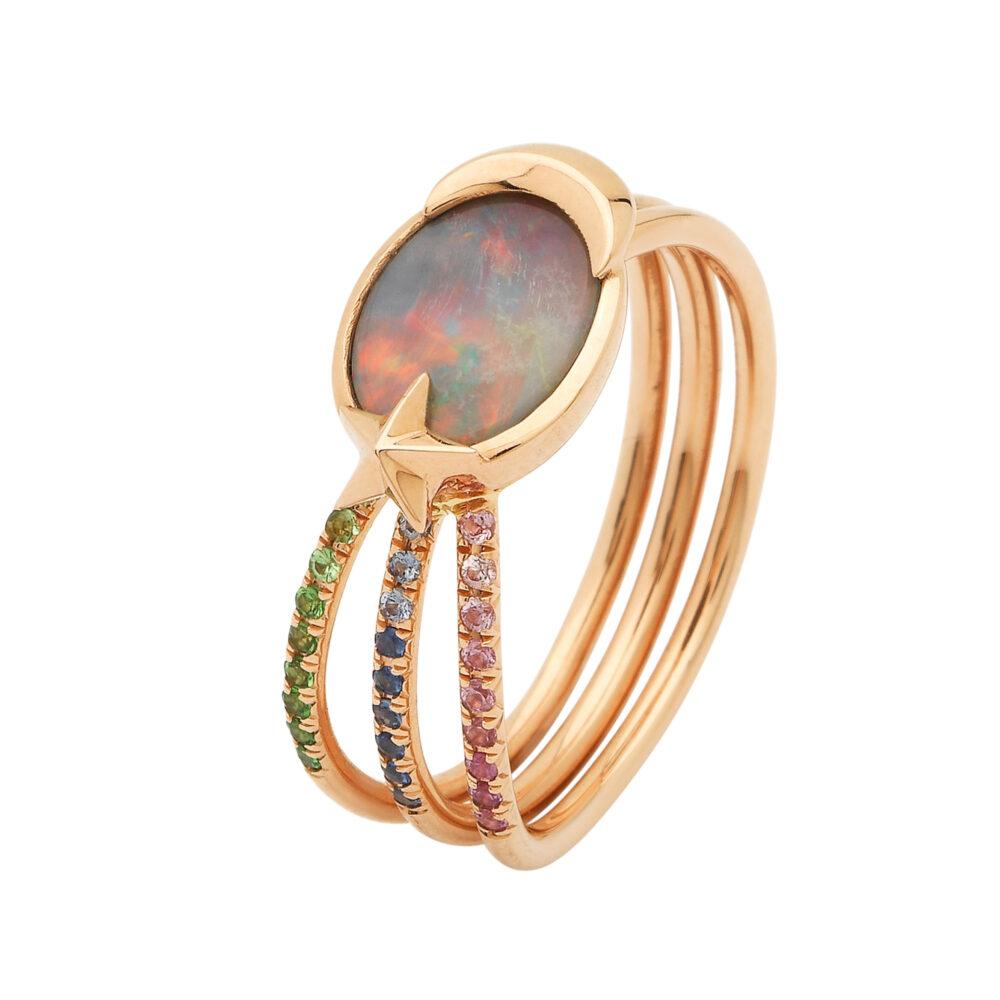 Bibi van der Velden_Ring Opal Shooting Star