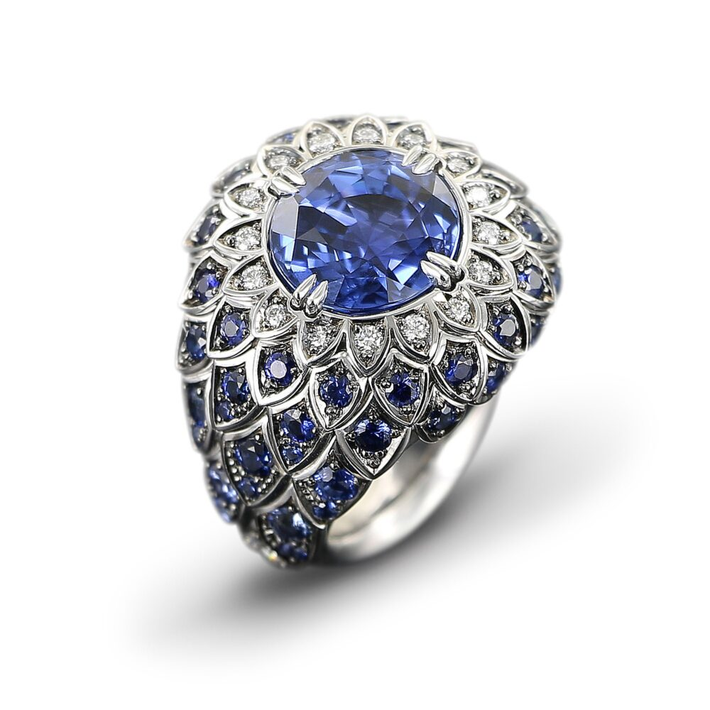 Meister 1881 Collection Ring Saphir
