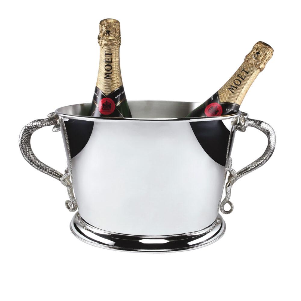 Champagnerkühler_Eidechse